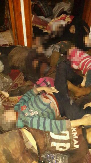 Suriye Doğu Guta'da kimyasal saldırı: Can kaybı 80'e çıktı...