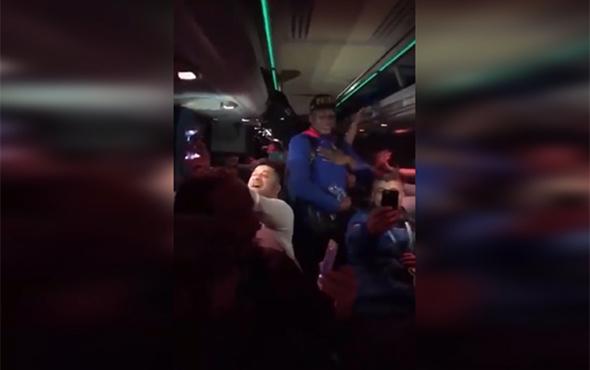 Gençlerbirliği otobüsünde büyük sevinç!