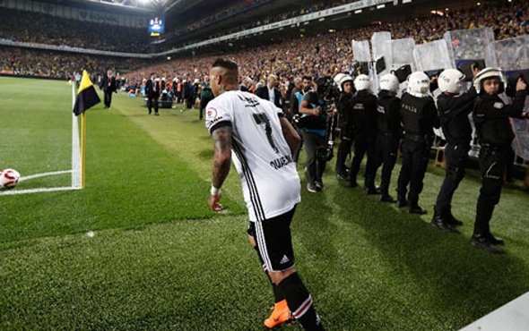 Beşiktaş'ta şok gelişme! Quaresma kadroya alınmadı