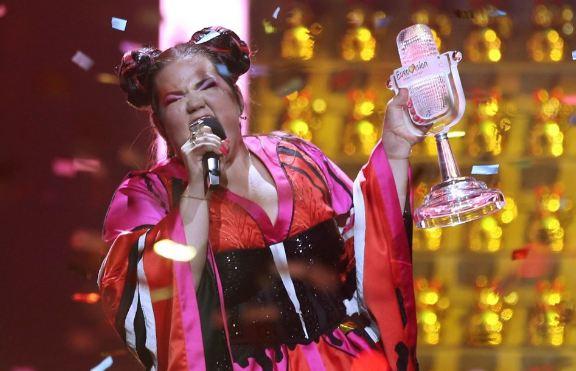 Eurovision 2018´in bu yıl kazananı İsrail sahnede olay çıktı