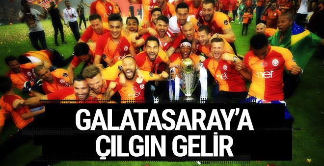 Galatasaray'a çılgın gelir! 500 milyon TL