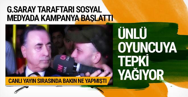 Galatasaraylı taraftarlar Rıza Kocaoğlu'yu yerden yere vurdu