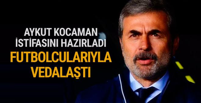 Aykut Kocaman istifasını hazırladı!