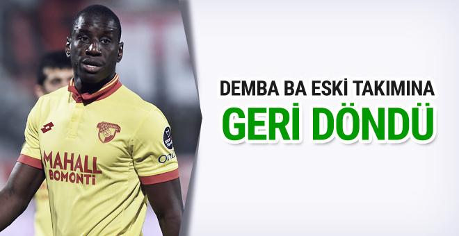 Demba Ba eski takımına geri döndü!