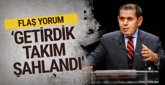 Dursun Özbek'ten Fatih Terim yorumu