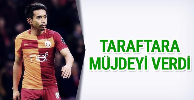 Nagatomo'dan Galatasaray taraftarına müjde