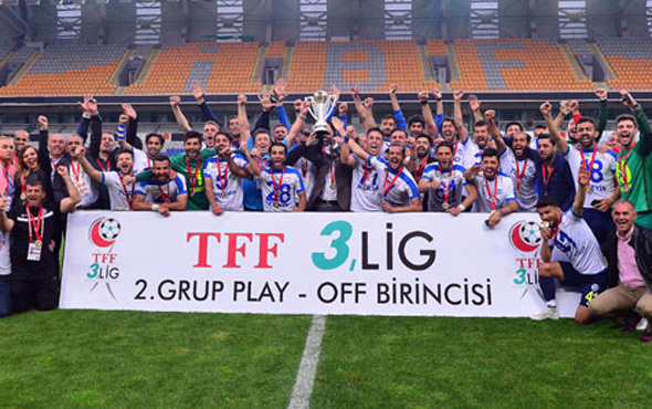 Ankara Demirspor TFF 2. Lig'e yükseldi