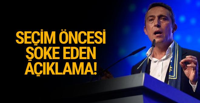 Ali Koç'tan olay açıklama! 'Bana kumpas kurabilirler'