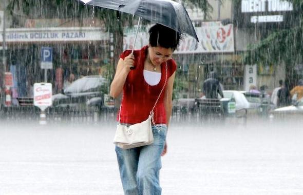 Hem dolu hem yağmur! Arka arkaya hava durumu alarmı