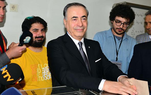Galatasaray başkanı Mustafa Cengiz'den ilk açıklama