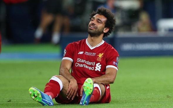 Sakatlanan Salah ağlayarak oyundan çıktı