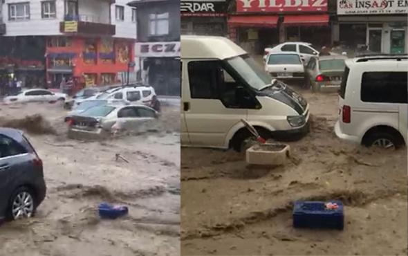 Ankara bugün 500 yılda bir olacak afeti yaşandı