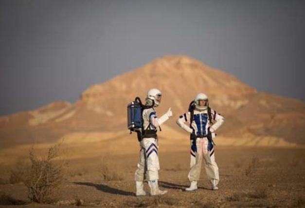 3812 yılına gitti Mars'ın fotoğrafını çekti dünyayı sallayan kare!