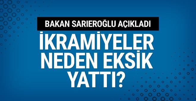 Emekli ikramiyesi neden eksik yattı Jülide Sarıeroğlu'dan yanıt!