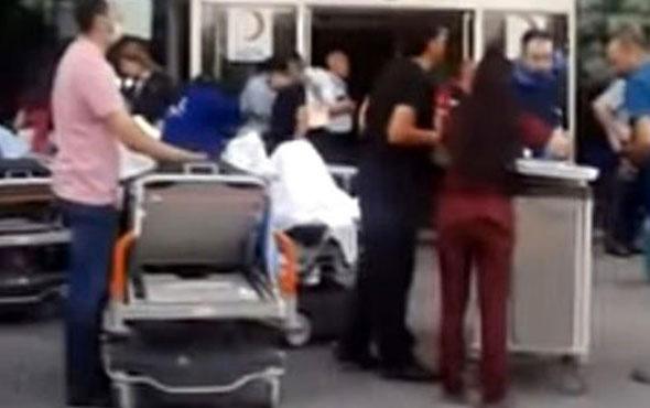 Gaziantep'te özel hastanede yangın: Ölü ve yaralılar var
