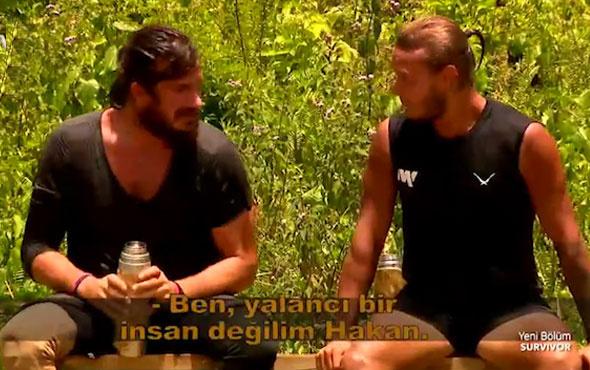 Survivor'da Hakan'dan Murat'a şoke eden suçlama