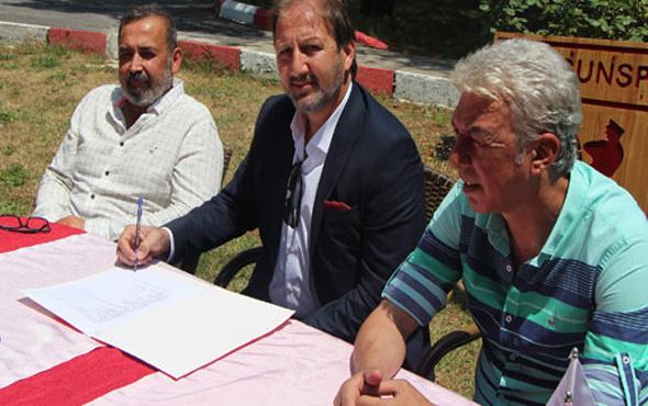 Samsunspor Taner Taşkın ile sözleşme imzaladı