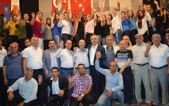 Aydın'da 400 kişi AK Parti'ye katıldı