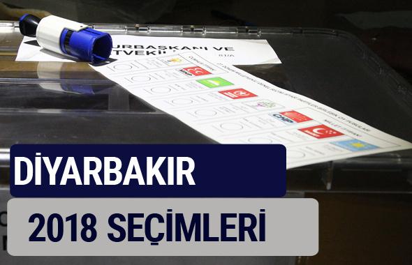 Diyarbakır oy oranları partilerin ittifak oy sonuçları 2018 - Diyarbakır