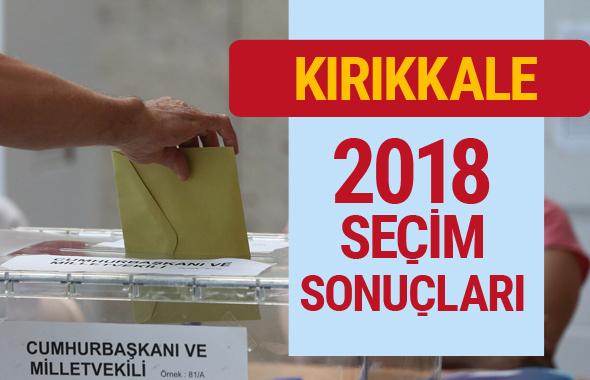 Kırıkkale seçim sonuçları 2018 Genel Seçimler Kırıkkale oyu