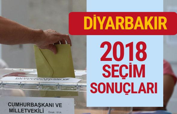 Diyarbakır seçim sonuçları 2018 Diyarbakır sonucu