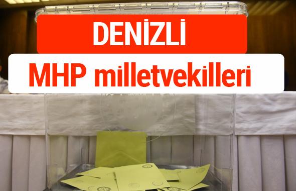MHP Denizli Milletvekilleri 2018 -27. Dönem listesi