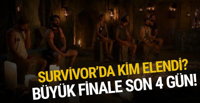 Survivor'da kim elendi? 24 Haziran 2018 SMS sonuçları!