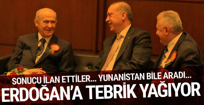 Bahçeli'den Erdoğan'a tebrik telefonu! Sonucu açıkladı...