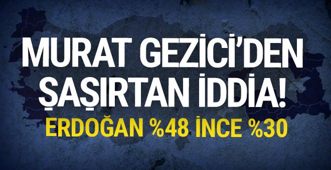 Seçim sonuçlarını tutturamayan Murat Gezici'den şaşırtan iddia