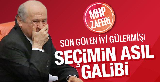Seçimin asıl galibi Devlet Bahçeli! MHP bakın kaç milletvekili aldı