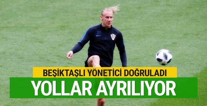 Beşiktaşlı yönetici Vida ile ayrılığı doğruladı