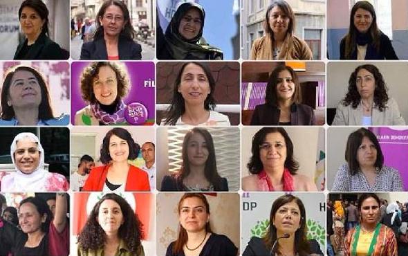 HDP'nin 27. dönem kadın milletvekilleri 26 isim var