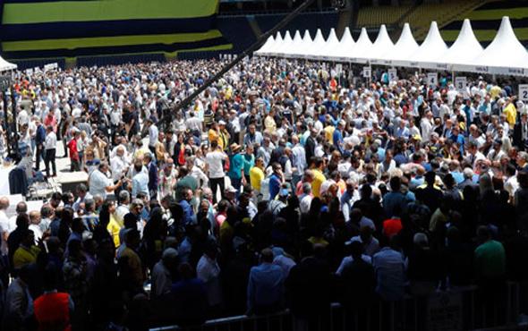 Fenerbahçe kongresinde rekor kırıldı