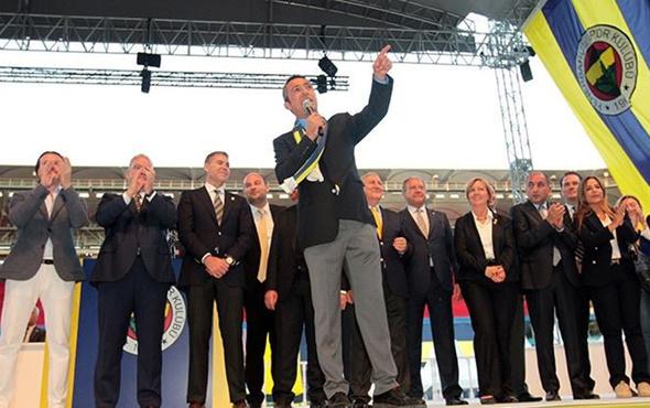 Ali Koç mazbatasını aldı artık resmen başkan