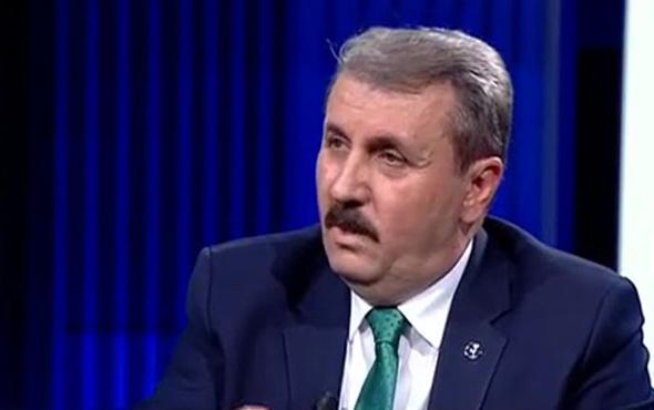 Mustafa Destici'den HDP'lileri çok kızdıracak sözler! HDP'yi kapatın