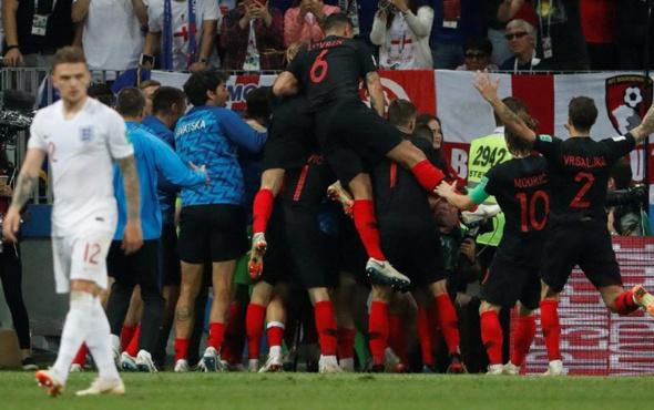 İngiltere Hırvatistan maçı golleri ve özeti