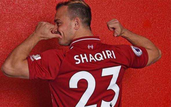Shaqiri'nin yeni adresi belli oldu