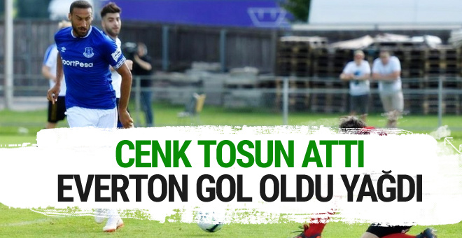Cenk attı Everton gol oldu yağdı