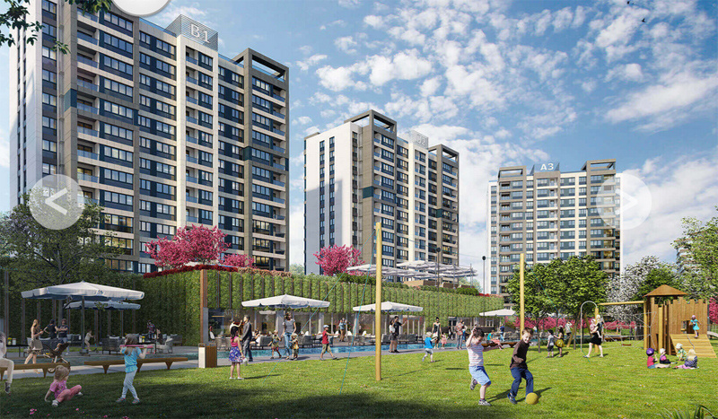 3. İstanbul Başakşehir projesi nerede öyle bir bahçesi var ki...