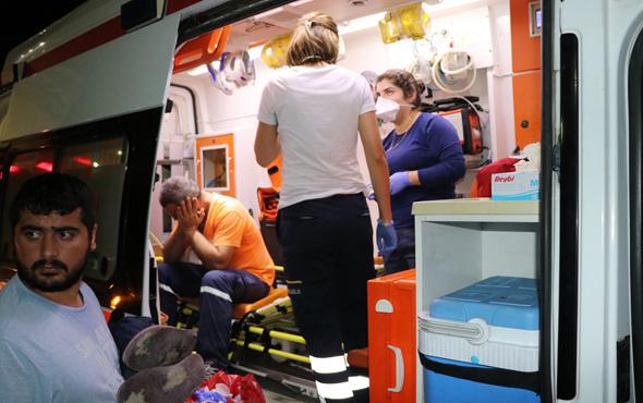 Fabrikada kaynağı bilinmeyen kokudan 8 kişi zehirlendi