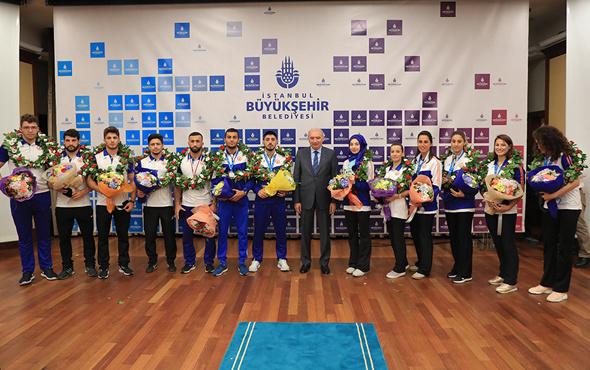 İBB sporcuları 2018'in ilk 6 ayında 130 altın madalya kazandı