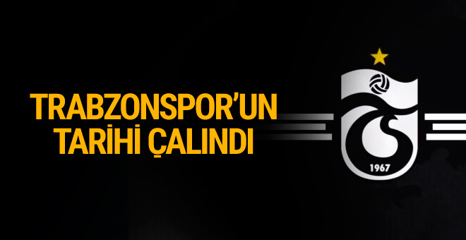 Trabzonspor'un resmi karar defteri çalındı