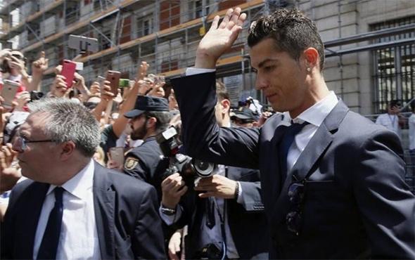 Ronaldo'nun para cezası onandı