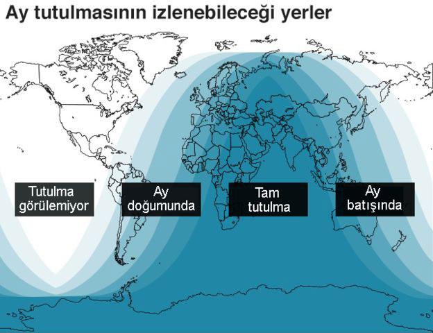 Kanlı Ay Tutulması nedir? Türkiye'de ne zaman başlayacak? Nerelerden izlenebilir?