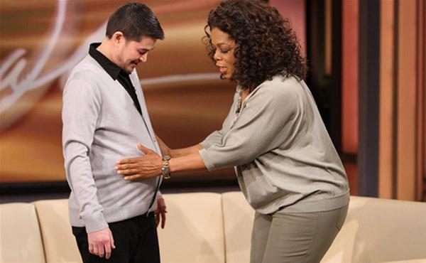 Hamile kalan ilk erkekti! Bir de son haline bakın