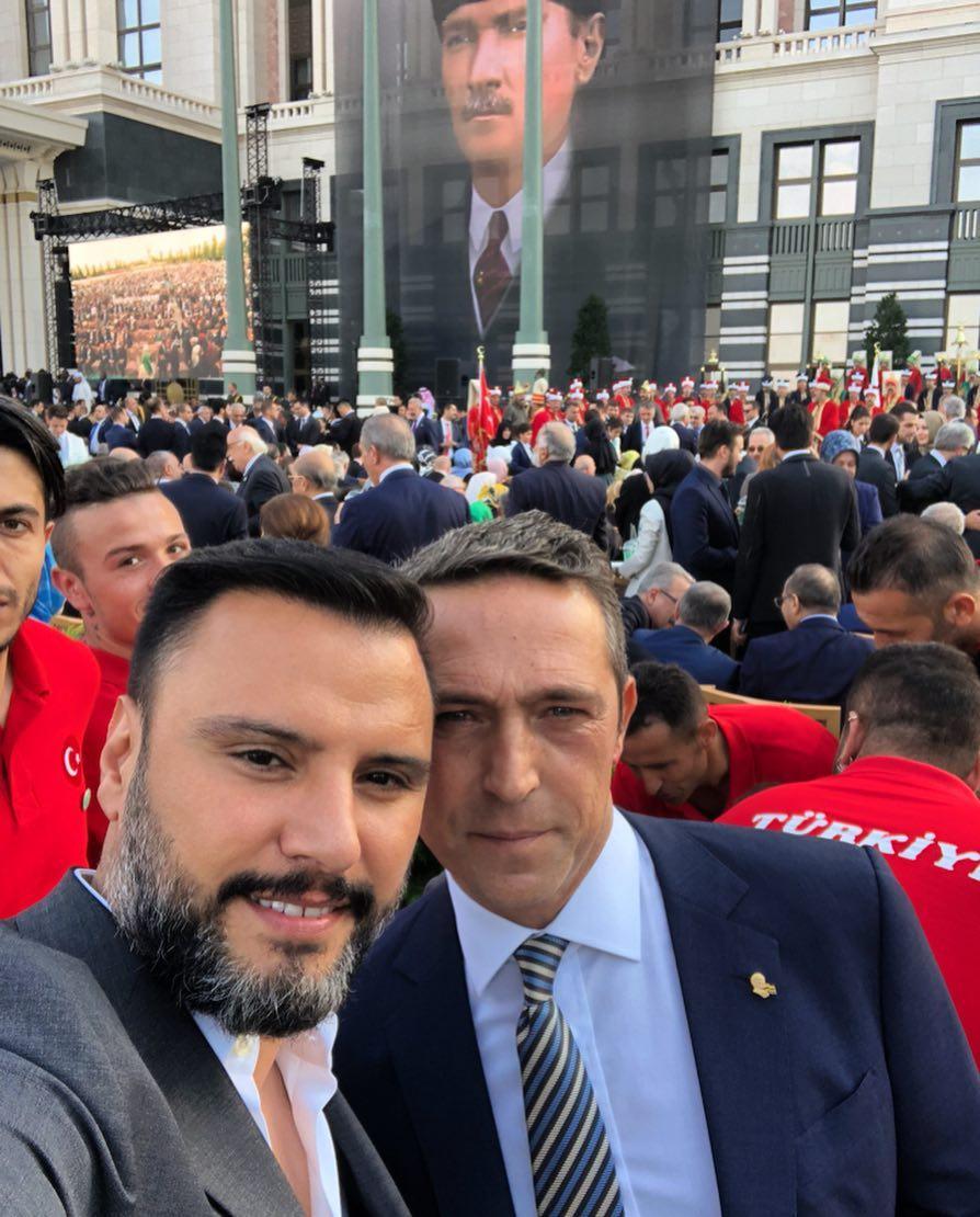Cumhurbaşkanı Erdoğan'ın yemin törenine ünlüler de katıldı