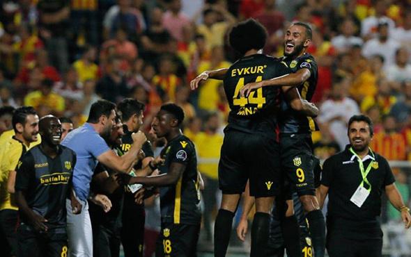 Yeni Malatyaspor Göztepe maçı sonucu ve özeti