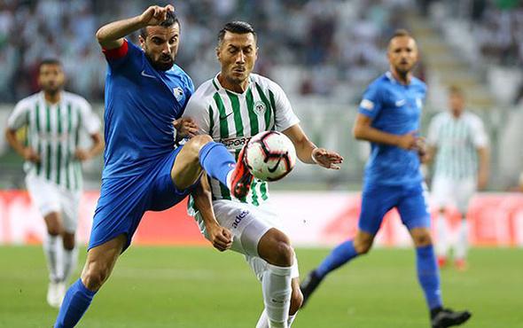 Konyaspor BB Erzurumspor maçı golleri ve sonucu