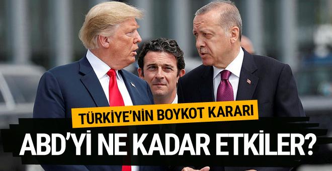 Erdoğan'ın boykot çağrısı ve ek vergiler ABD'yi ne kadar etkiler?
