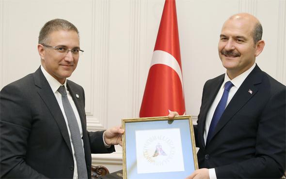 Bakan Soylu Sırp mevkidaşı ile görüştü